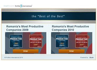 Cele mai productive firme din Romania